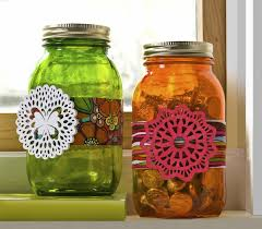 decorate jars for diycandy