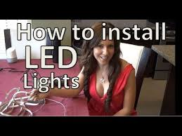 utilitech 144 in plug in under cabinet led tape light how to install led strip lights under cabinet led strip youtube
