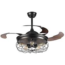 Retractable Light Fixtures Fanaway Classic 48 Inch Fan With Clear 4 Retractable