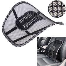 coussin si e auto noir maille tissu siège de voiture coussin lombaire soutien de