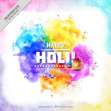 background holi colorful watercolor abstract vector free download