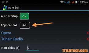 android autostart app how to make any app autostart in android