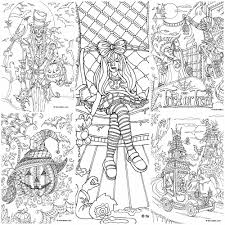 halloween 10 coloring pages favoreads coloring club