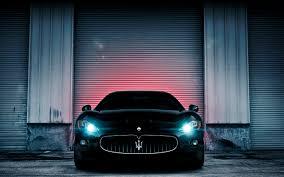 maserati granturismo front automobiles cars front view garage headlights maserati granturismo