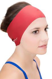 waterproof swim cap hair guard headband headcovers
