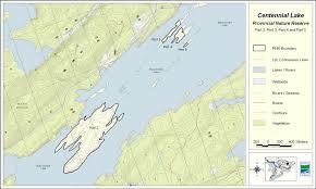 Table Rock Lake Map Centennial Lake Provincial Park Management Statement Ontario Ca