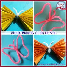 two easy butterfly crafts for younger kids