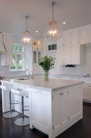 Lantern Kitchen Lighting by Sorenson 14 Lantern In A Pristine White Kitchen By Elizabeth Swift