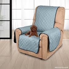 housse canapé imperméable 177 56cm housse de canapé imperméable 1 place doubles faces bleu