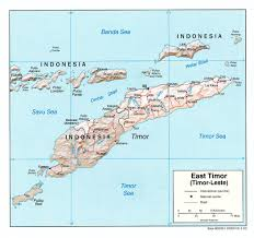 Map Of Eastern Africa by