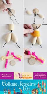 make diy wooden bead dolls diy wood craft kits and dolls