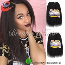 pictures if braids with yaki hair new coming hair extension kinky straight hair weave natural and