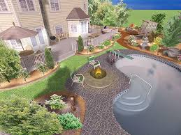 Online Backyard Design Tool Free Garden Amazing Sample Landscape Plans Front Yard Landscape Ideas