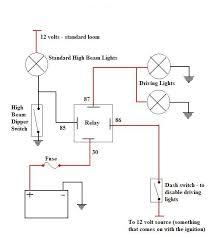 interesting spotlight wiring diagram 4 pin relay bosch 4 pin relay