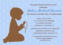 holy communion invitations holy communion religious boy invitations religious