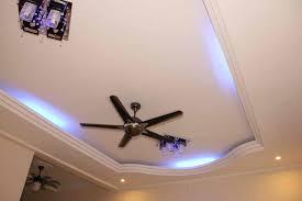 False Ceiling Designs For Living Room With 2 Fans Integralbook Com