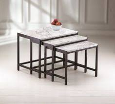 marble top nesting tables pin by melanie burstin on goods pinterest cork marbles and coffee