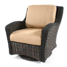 ebel dreux wicker club swivel glider