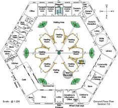 Doctor Office Floor Plan by Ground Floor Room Layout For Holistic Pyramid Healing Centre