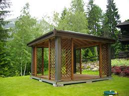 gazebo da giardino in legno prezzi vendita gazego in legno brescia edil garden brescia bergamo