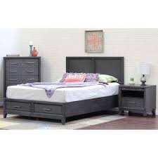 storage beds u0026 headboards bedroom furniture the home depot