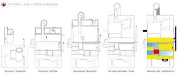 bernstein house dwg drawings cube hause pinterest
