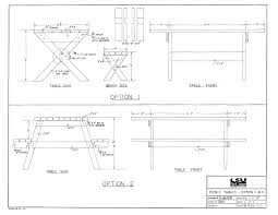 Free Plans For Building A Picnic Table by Picnic Table Plans Build A Picnic Table With Easy Detailed Plans