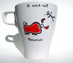 taurus mug coffee mug personalized mug zodiac mug on luulla