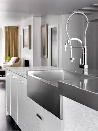 Kitchen Faucets High End High End Kitchen Taps Three Hole Kitchen Faucet With Sprayer