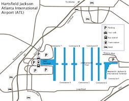 atlanta international airport map atlanta international airport atl guide to buses taxis and