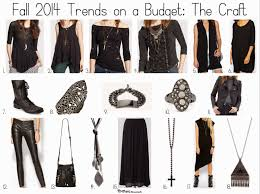 fall 2014 trends on a budget the craft nyc recessionista