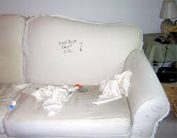Make A Sofa by How To Make A Slipcover For A Couch Artists That Inspire