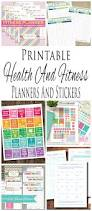 printable health and fitness planners and printable planner health and fitness planners and printable planner stickers