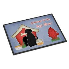 Wipe Your Paws Coir Coco Envelor Home Wipe Your Paws Rubber Embossed Coco Coir Doormat