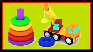 videos for kids cartoons colour cars color pyramid learning
