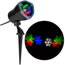 Projector Lights Christmas by Multicolored Snow Flurry Light Projection U2014kmart