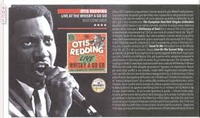 otis redding live at the whisky a go go the complete recordings