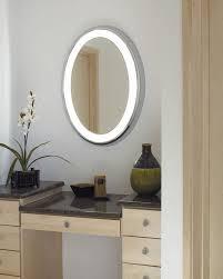 Round Bathroom Mirror by Bathroom Design Using Light Gray Soft Bathroom Wall Paint