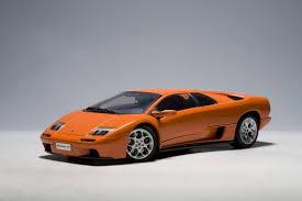 lamborghini diablo orange lamborghini diablo 6 0 orange 1 18 model cars