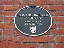 ronnie barker wikipedia