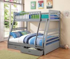 Iron Bunk Bed Designs Bedroom Design Awesome White Twin Over Full Bunk Bed Design