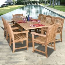 costco patio furniture dining sets saratoga 11 piece patio dining