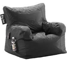 big joe black bean bag chair rc willey furniture store
