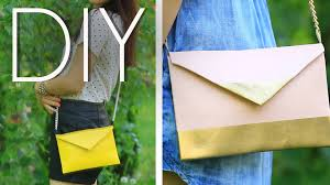 No Sew Project How To - diy easy no sew cute cross body mini purse clutch how to make