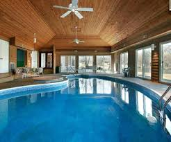 modern indoor pool wit plants indoor pool homes for sale