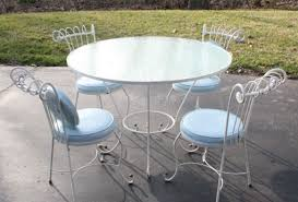 Wrought Iron Vintage Patio Furniture by Favorable Wrought Iron Outdoor Furniture Antique Tags Wrought