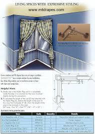 Window Treatment Hardware Medallions - infinette decorative curtain hardware easy installation