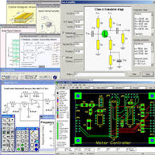 electronic circuits software pic pcb electrical cad softw