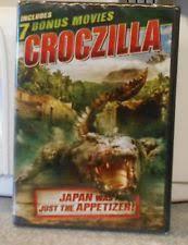 croczilla includes 7 bonus movies dvd 2017 2 disc set ebay