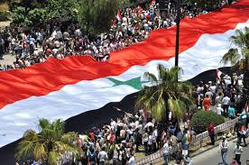 Rebel Syrian Flag The Syrian Conflict In Photos Photos Abc News